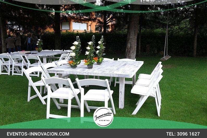 Sillas for Mesa y sillones para jardin
